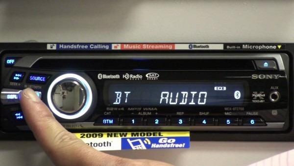 Sony Xplod Bluetooth Bt Head Unit Overview