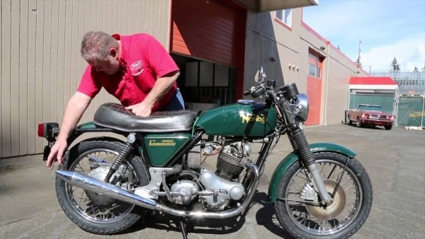 1974 Norton 850 Commando Sold Drager's International Classic Sales