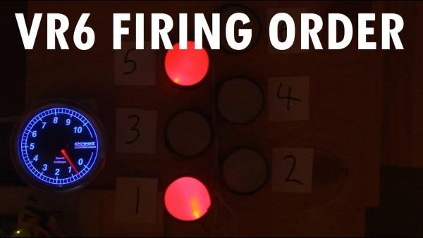 Audiovisual Demonstration Of Vw Vr6 Engine Firing Order