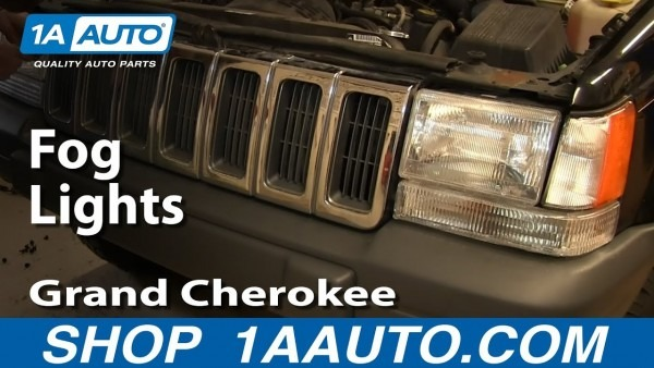 Bolt On Factory Fog Lights 1997 Jeep Grand Cherokee