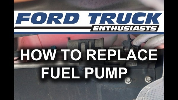 Ford F 150 How To Replace Fuel Pump
