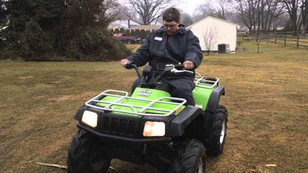 2004 Arctic Cat 400 4x4 Manual Fis Followed Me Home On The Back Of