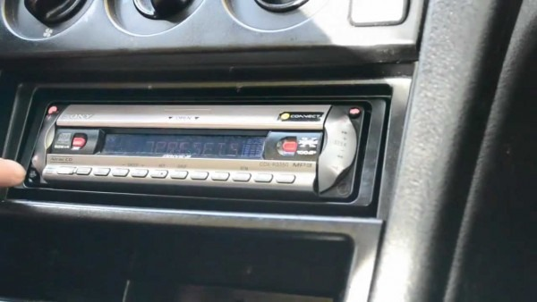 How To Remove A Car Radio Without Special Tools ( Keys ) E G  Sony