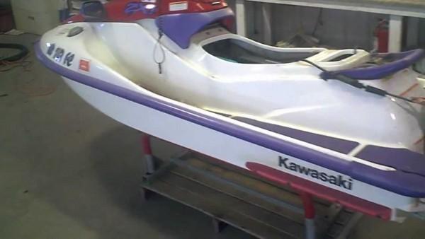 Lot 1262a 1997 Kawasaki Zxi 750 Jet Ski Running