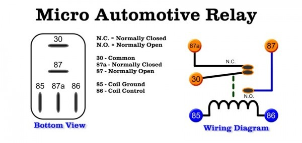 30 Automotive Relay Wiring Diagram