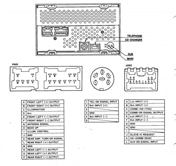 97 Maxima Radio Wiring