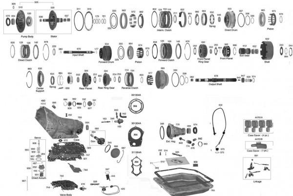 Turbo 350 Transmission Diagram