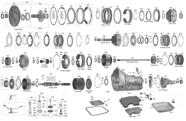 Trans Parts Online Aod Aod Transmission Parts