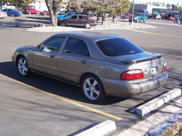 2001 Mazda 626 Lx With Mazda 3 17 Inch Wheels
