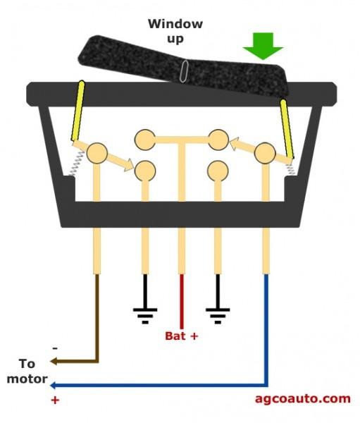 Gm Power Window Switch 5 Pin Wiring Diagram