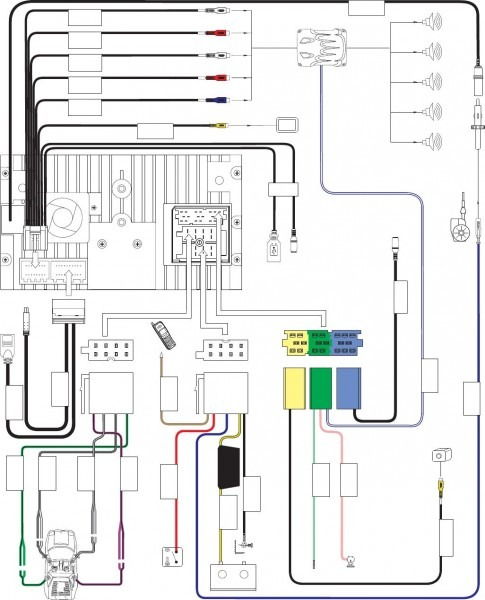 Pretty Jensen Wiring Diagram Photos The Best Electrical Circuit