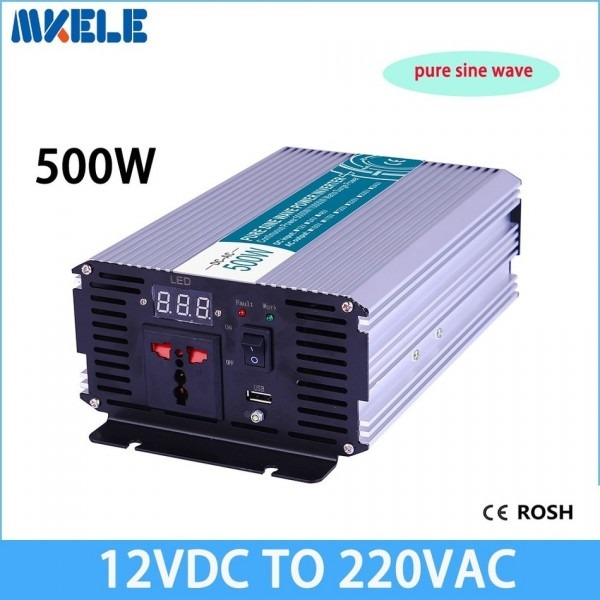 Pure Sine Wave Inverter Voltage Converter Solar Inverter 12vdc To