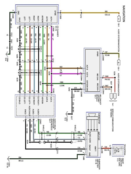 2006 Ford Fusion Radio Wiring Diagram