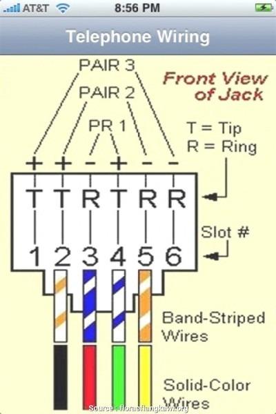 Rj11 Phone Wiring Diagram