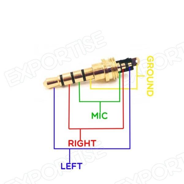 3 Wire Headphone Jack Wiring Diagram
