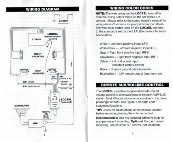 Wiring Diagram For Kicker Amp