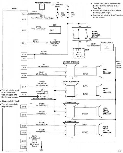 Scosche Wiring Diagram
