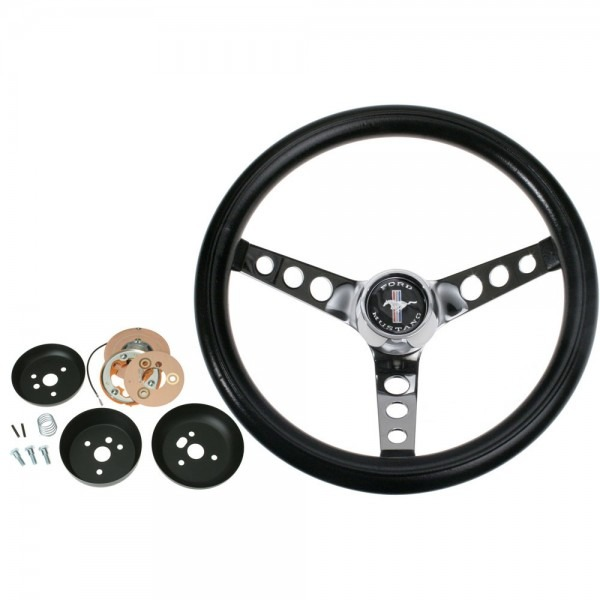 Grant Mustang Steering Wheel Kit Nostalgia Foam 15  1965