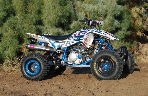 Project Test  Teixeira Tech Honda Trx400ex Project Quad
