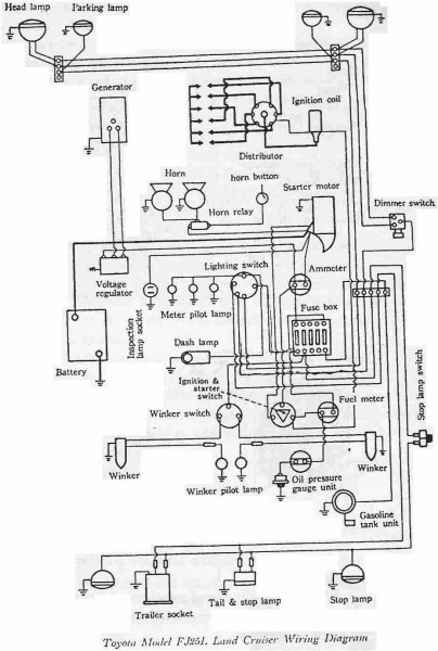 Fj80 Wiring Diagram