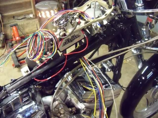 Custom Harley Wiring Harness