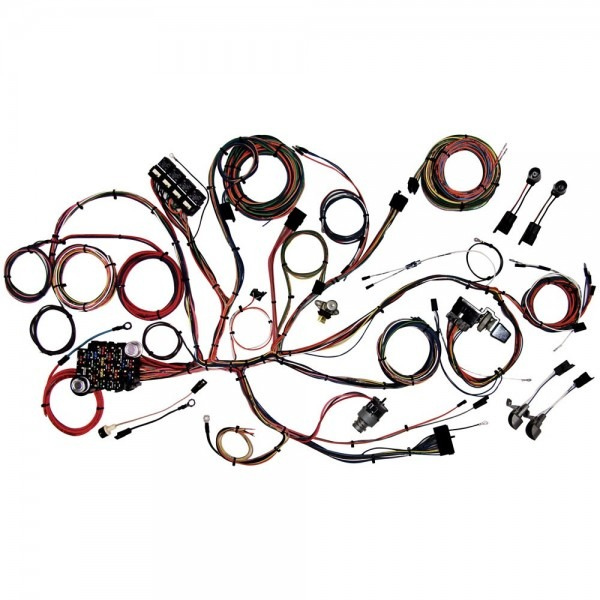 American Autowire 510125 Mustang Complete Wiring Harness
