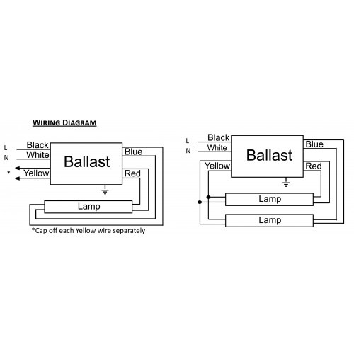 Ballast Wiring Diagram