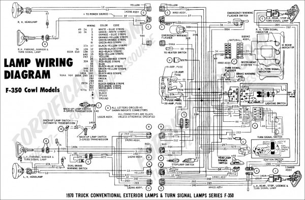 Ford       F350       Wiring       Schematic        Car    Wiring       Diagram