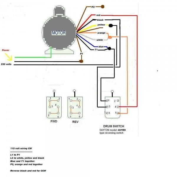 120 220 Motor Wiring Diagram