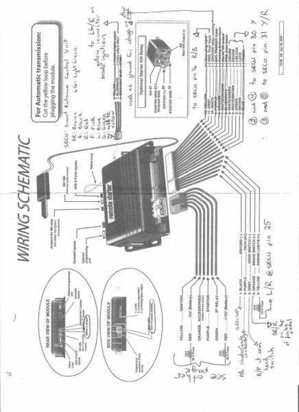 Avital Remote Start Wiring Diagram