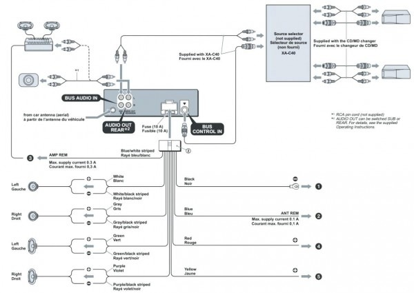 25 Wonderful Of Sony Cdx Ra700 Wiring Diagram House Diagrams At