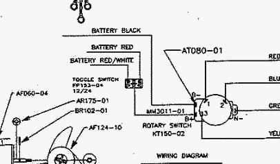 12 24 Volt Switches Wiring Diagram