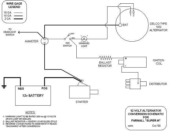Wiring Diagram For 6 Volt Generator