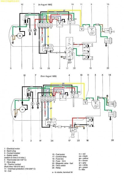 Eberspacher Wiring Diagram