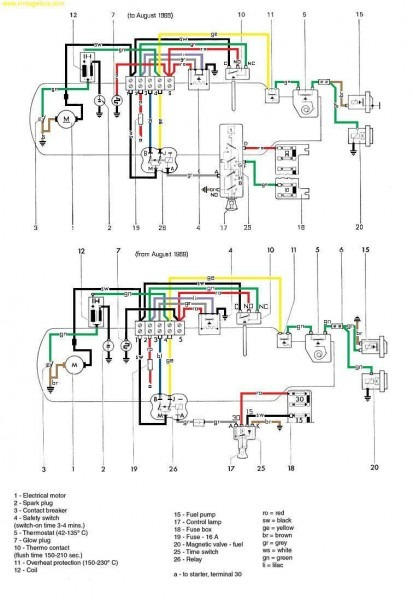 Eberspacher Wiring Diagram