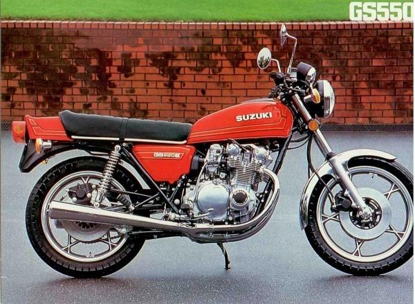 Suzuki Gs550l Specs
