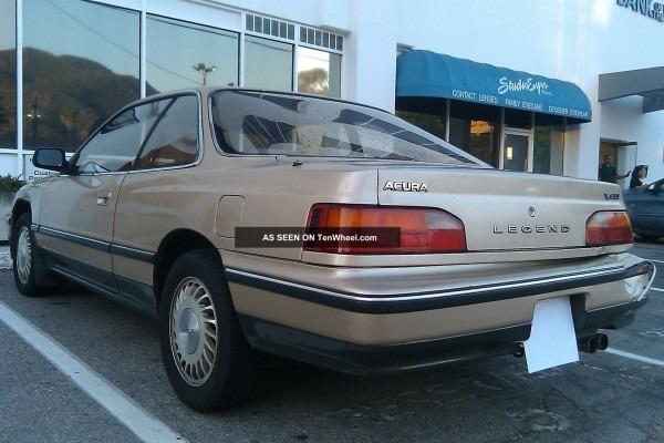 1989 Acura Legend L Coupe