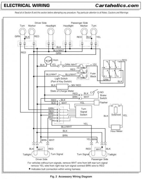 Signal Light Wiring Diagram Ezgo Golf Cart | Wiring Diagram Files relate | Gem Car 48 Volt Wiring Diagram |  | wiring diagram library