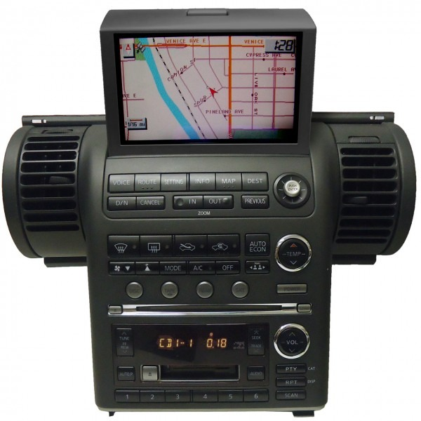 03 04 Infiniti G35 G 35 Bose Radio Navigation Gps 6 Disc Cd