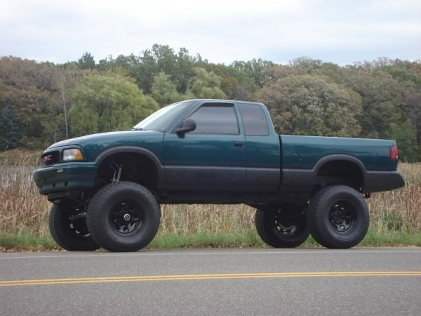 2000 Gmc Sonoma Lifted