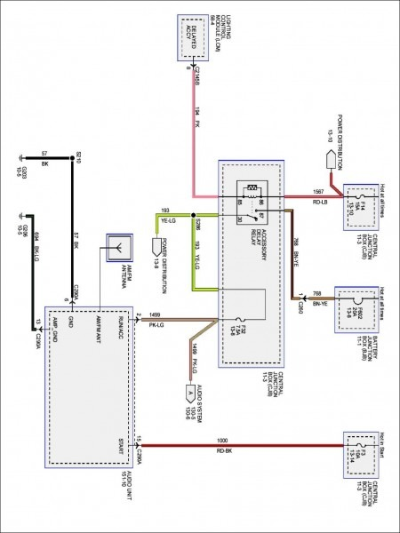Wiring Diagram For Lincoln Ls