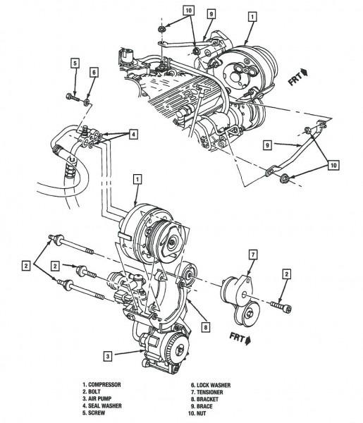 2007 Honda Odyssey Serpentine Belt Diagram