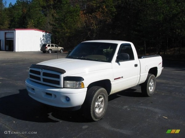 1998 Bright White Dodge Ram 1500 Sport Regular Cab 4x4  21779077