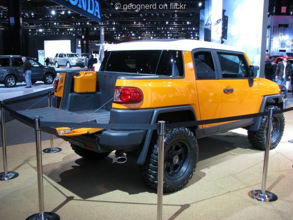 Toyota Fj Cruiser Convertible