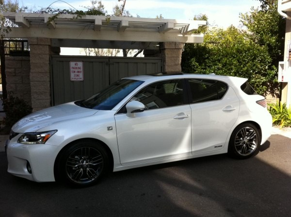 California 2012 Ct 200h F Sport Owners