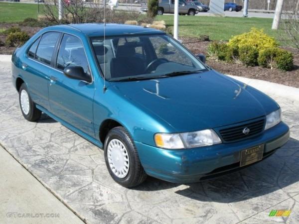 1997 Vivid Teal Pearl Metallic Nissan Sentra Gxe  27851001