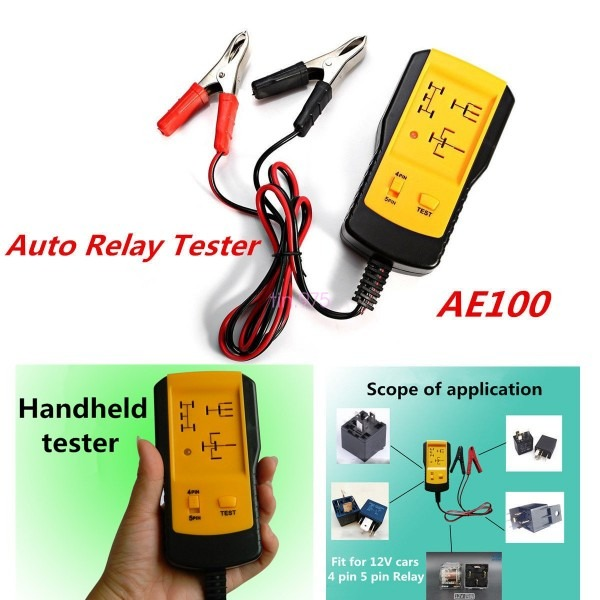 Specialties Electronic Automotive Relay Tester For 12v Cars Auto