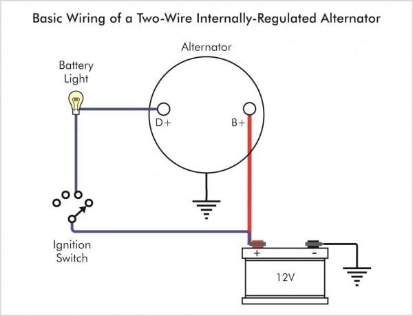 One Wire Alternator Hook Up