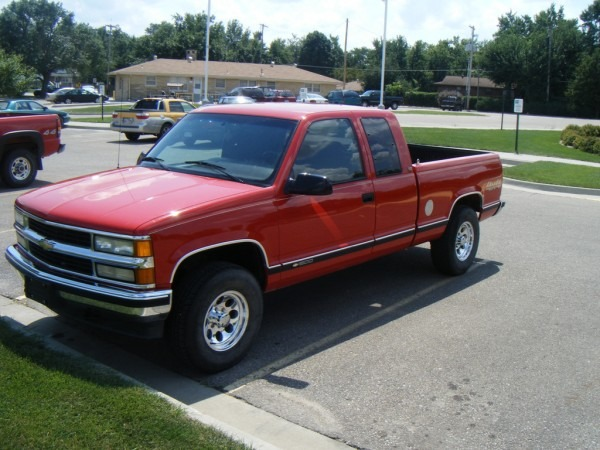 Burb59 1995 Chevrolet Silverado 1500 Regular Cab Specs, Photos