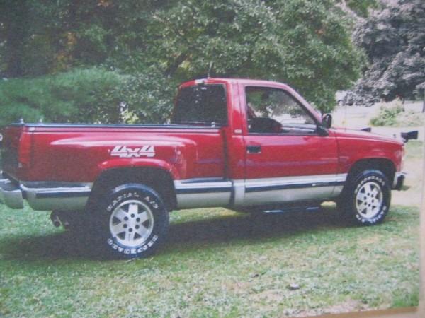 91 Chevy Silverado 4x4 Plow Truck